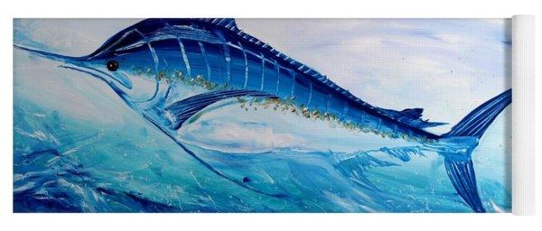 Abstract Marlin Yoga Mat