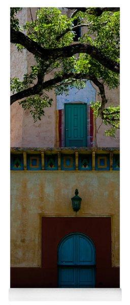 Alhambra Water Tower Doors Yoga Mat