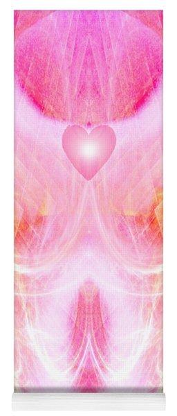 Angel Of Divine Love Yoga Mat