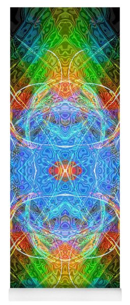 Angel Of Luck And Good Fortune Yoga Mat