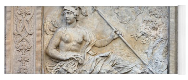 Athena Relief In Gdansk Yoga Mat