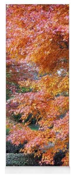 Autumn Momiji Yoga Mat