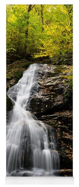 Autumn Waterfall Yoga Mat