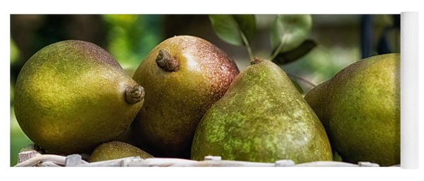 Basket Of Pears Yoga Mat