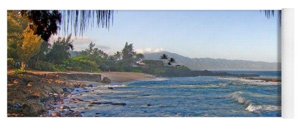 Beach On North Shore Of Oahu Yoga Mat