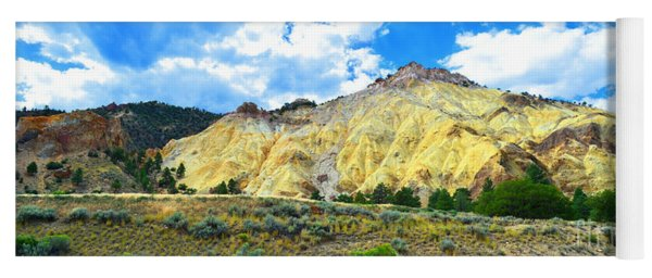 Big Rock Candy Mountain - Utah Yoga Mat