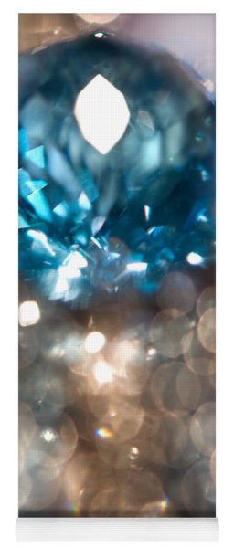 Blue Topaz. Spirit Of Treasure Yoga Mat