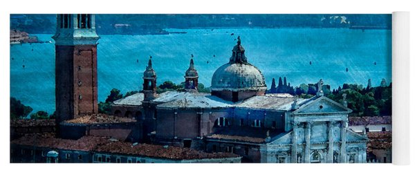 Blue Venice Yoga Mat