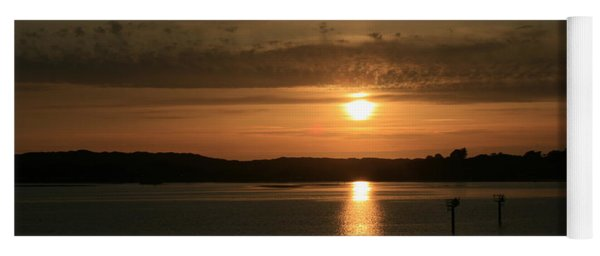 Bodega Bay Sunset II Yoga Mat