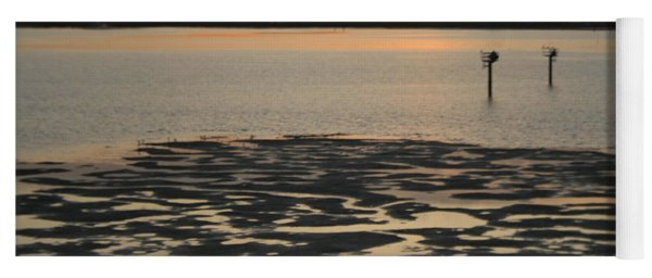 Bodega Bay Sunset Yoga Mat