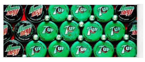 Bottle Caps Christmas Tree Yoga Mat