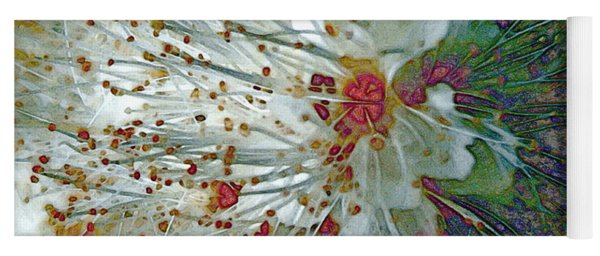 Bouquet Of Snowflakes Yoga Mat