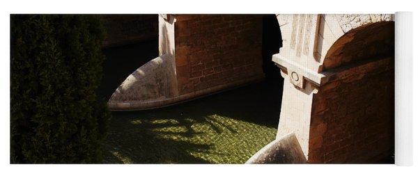 Bows In River Yoga Mat