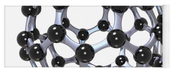 Buckminsterfullerene Or Buckyball C60 18 Yoga Mat