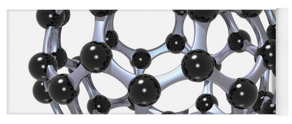 Buckminsterfullerene Or Buckyball C60 18 Yoga Mat