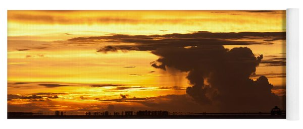 Burning Sky Yoga Mat