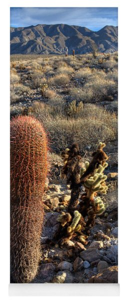 Cactus Of The Desert Yoga Mat