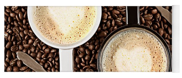 Caffe Latte For Two Yoga Mat