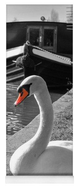 Canal Swan Yoga Mat