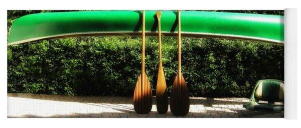 Canoe To Nowhere Yoga Mat