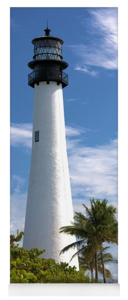 Cape Florida Lighthouse Yoga Mat