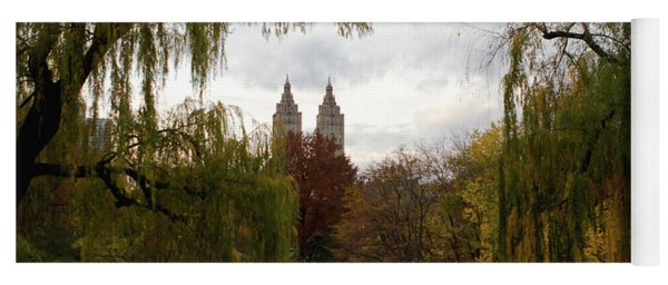 Central Park Autumn Yoga Mat
