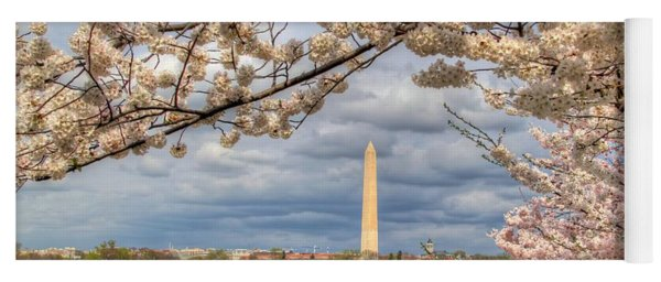 Cherry Blossoms Washington Dc 4 Yoga Mat