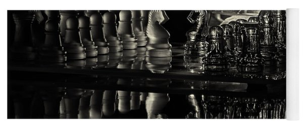 Chess By Candlelight Yoga Mat
