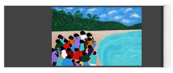 Chou Chou Beach Haiti Yoga Mat