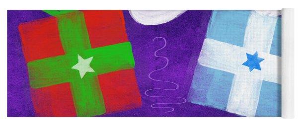 Christmas And Hanukkah Peace Yoga Mat