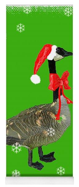 Christmas Goose Yoga Mat