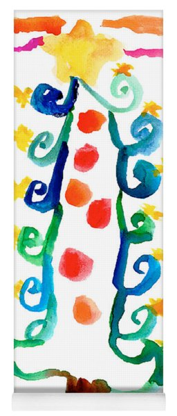 Christmas Tree Yoga Mat
