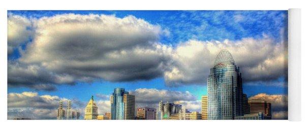 Cincinnati Skyline 2012 - 2 Yoga Mat