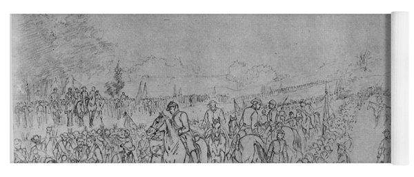 Civil War: Appomattox, 1865 Yoga Mat