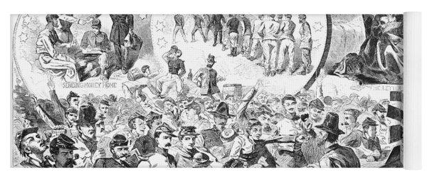 Civil War: Pay Day, 1863 Yoga Mat