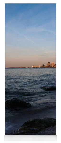 Cleveland From The Shadows Yoga Mat
