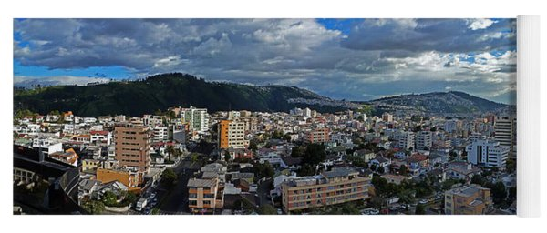 Close Of Business - Quito - Ecuador Yoga Mat