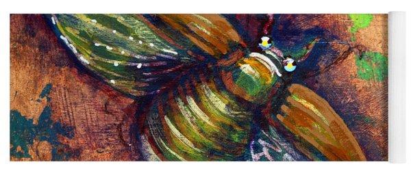 Copper Beetle Yoga Mat