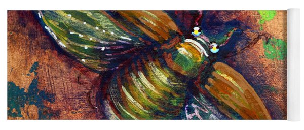Copper Beetle Yoga Mat