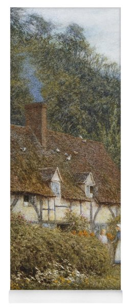 Cottage Near Witley Surrey Yoga Mat