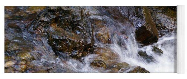 Creek Scene On Mt Tamalpais Yoga Mat