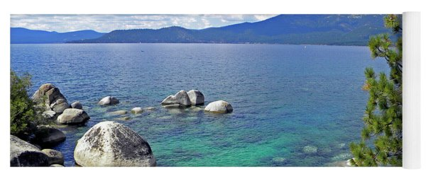 Deep Waters Lake Tahoe Yoga Mat