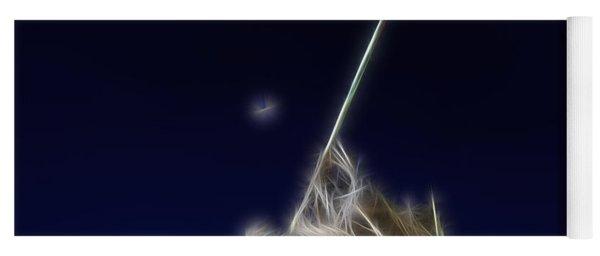 Digital Lightening - Iwo Jima Memorial Yoga Mat