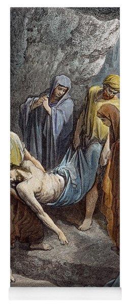 Burial Of Jesus Yoga Mat