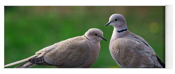 Doves Yoga Mat