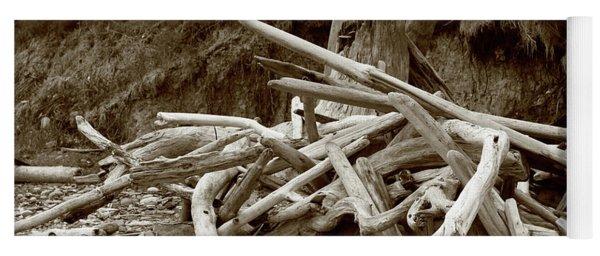 Driftwood Pile San Juan Yoga Mat