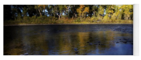 Early Fall At The Headwaters Of The Rio Grande Yoga Mat