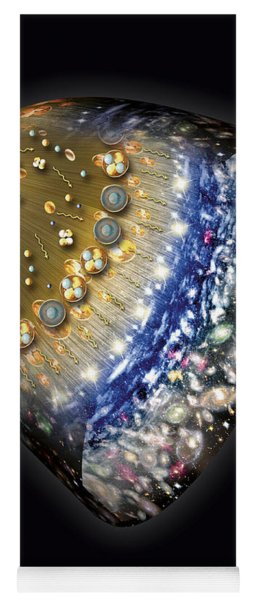Early History Of The Universe Yoga Mat