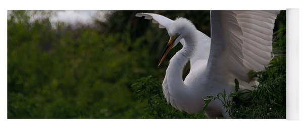Egret Wings Yoga Mat