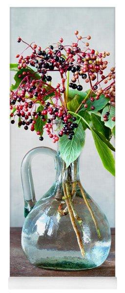 Elderberries 06 Yoga Mat